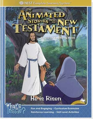 He Is Risen Activity And Coloring Book - Instant Download