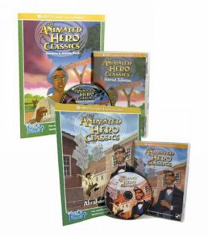Harriet Tubman and Abraham Lincoln Interactive 2 DVD Bundle