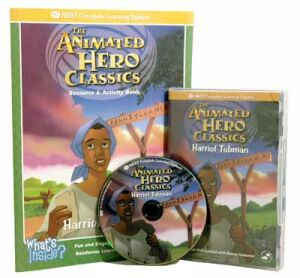 The Animated Story Of Harriet Tubman Video On Interactive DVD