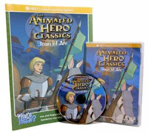 The Animated Story Of Joan Of Arc Video On Interactive DVD