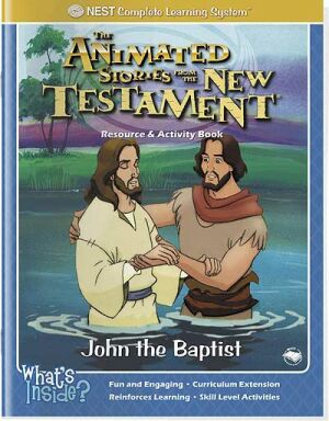 John The Baptist Activity And Coloring Book - Instant Download
