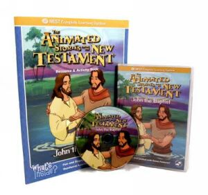 John The Baptist Video On Interactive DVD