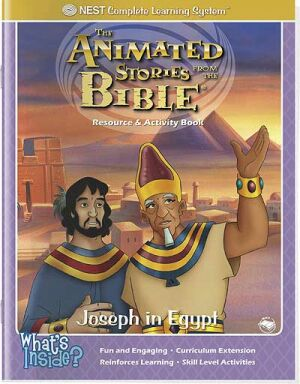 Joseph In Egypt Activity And Coloring Book - Instant Download