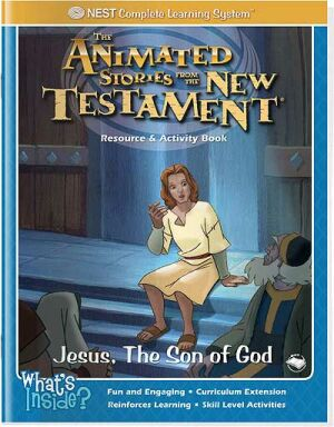 Jesus, The Son Of God Activity And Coloring Book - Instant Download