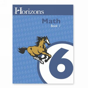 Horizon Mathematics 6 Student Book 1