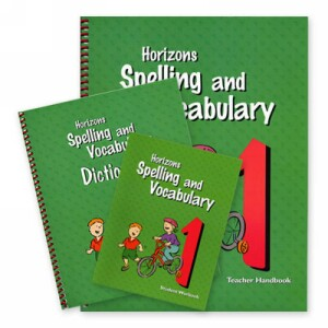 Horizon Spelling and Vocabulary Grade 1 Complete Set