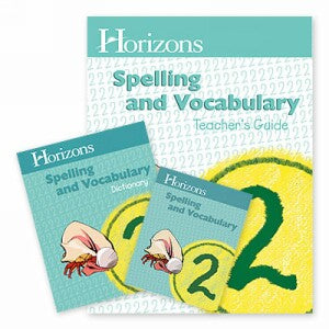 Horizon Spelling and Vocabulary 2 Complete Set