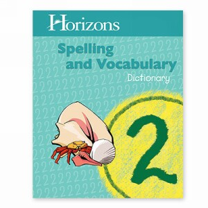 Horizon Spelling and Vocabulary 2 Dictionary