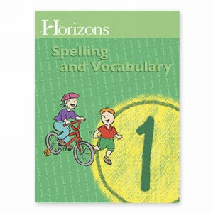 Horizon Spelling and Vocabulary Grade 1 Student Book