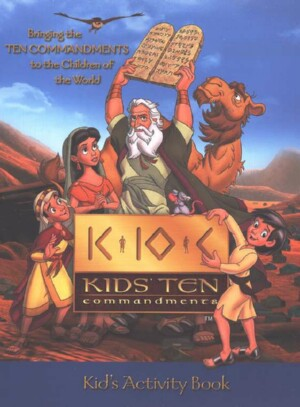BONUS OFFER - Kids Ten Commandments Activity Book Instant Download