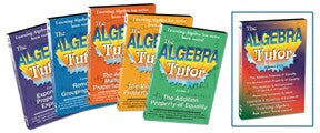 Algebra Tutor Series 5 DVD Set - Includes Volumes 1 - 5