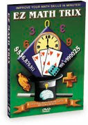 EZ Math Trix 5 DVD Set - Addition & Subtraction, Multiplication, Division, Card Tricks, Math & Number Fun