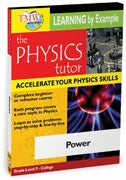 Physics Tutor: Power