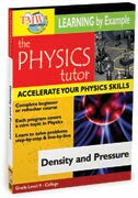 Physics Tutor: Density and Pressure