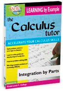 Calculus Tutor: Integration By Parts