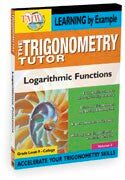Trigonometry Tutor: Logarithmic Functions