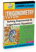 Trigonometry Tutor: Solving Exponential and Logarithmic Equations