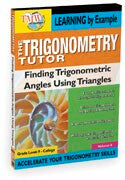 Trigonometry Tutor: Finding Trig Functions Using Triangles