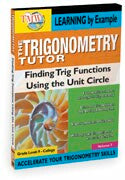 Trigonometry Tutor: Finding Trig Functions Using  Unit Circle