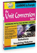 Unit Conversion Tutor:Solutions Involving Volume
