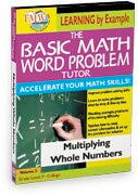 Basic Math Word Problem Tutor: Multiplying Whole Numbers