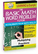 Basic Math Word Problem Tutor: Multiplying Fractions