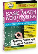 Basic Math Word Problem Tutor: Applying Percentages to Word Problems
