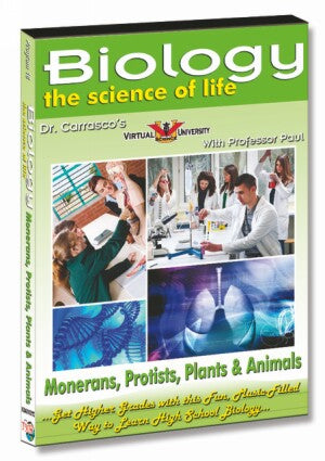 Monerans, Protists, Plants & Animals