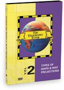 Geography Tutor: Types of Maps & Map Projections