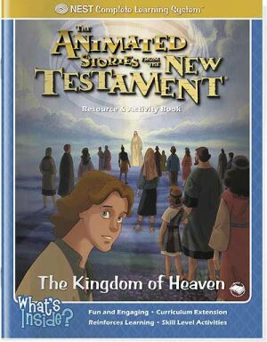 The Kingdom Of Heaven Activity And Coloring Book - Instant Download