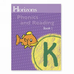 Horizon Kindergarten Phonics and Reading K Student Book 1