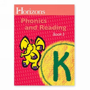 Horizon Kindergarten Phonics and Reading K Student Book 3