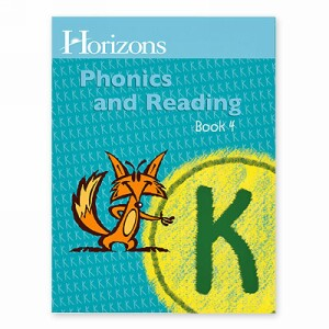 Horizon Kindergarten Phonics and Reading K Student Book 4