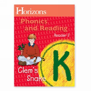 Horizon Kindergarten Phonics and Reading K StudentReader 3, Clem's Snake