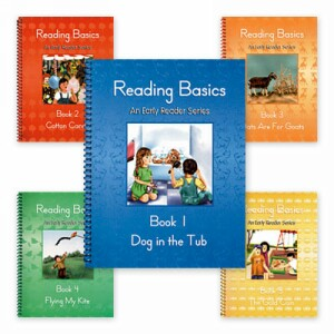 LIFEPAC First Grade Language Arts Reading Basics Set of 5 Readers