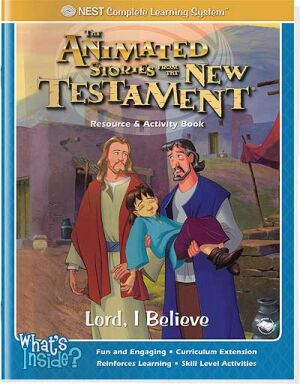 Lord, I Believe Activity And Coloring Book - Instant Download