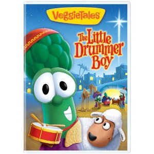 Veggie Tales Little Drummer Boy Christmas DVD