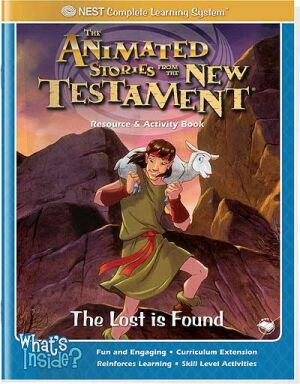 The Lost Is Found Activity And Coloring Book - Instant Download
