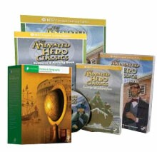 3rd Grade History Package - NEST DVDs and LIFEPAC