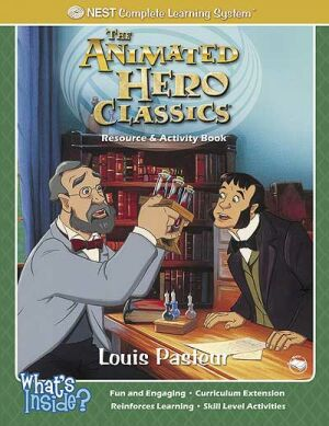 Louis Pasteur Activity And Coloring Book - Instant Download Instant Download