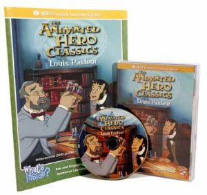 The Animated Story Of Louis Pasteur Video On Interactive DVD