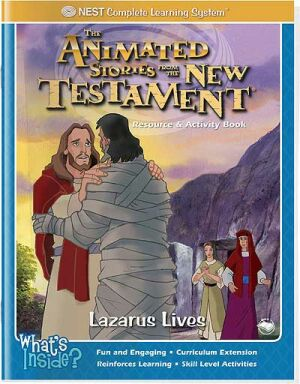 Lazarus Lives Activity And Coloring Book - Instant Download