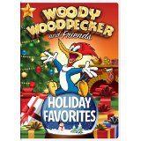 Woody Woodpecker Holiday Christmas DVD