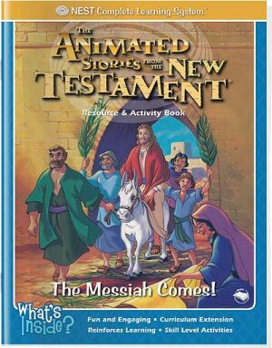 The Messiah Comes! Activity And Coloring Book - Instant Download