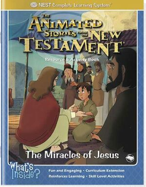 The Miracles Of Jesus Activity And Coloring Book - Instant Download
