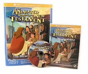 The Miracles Of Jesus Video On Interactive DVD