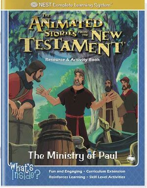 The Ministry Of Paul Activity And Coloring Book - Instant Download