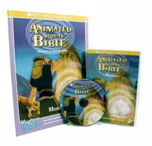 The Story Of Moses Video On Interactive DVD