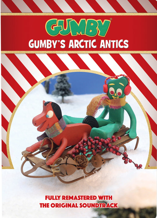 A Gumby Gumbys Arctic Christmas DVD