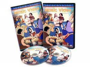 Animated New Testament Music Video DVD Pack - Vols 1 & 2